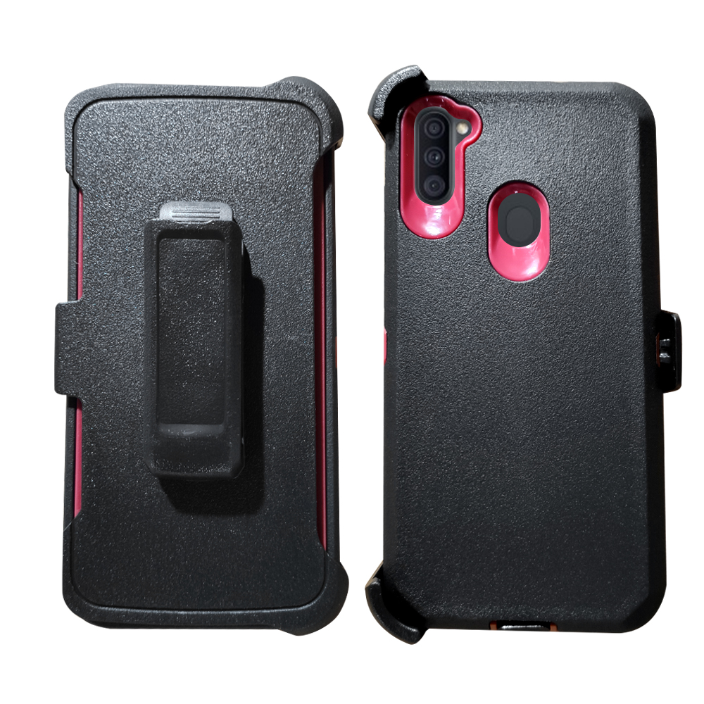 Samsung A21 ToughClip 2in1 Case w/ Belt Clip