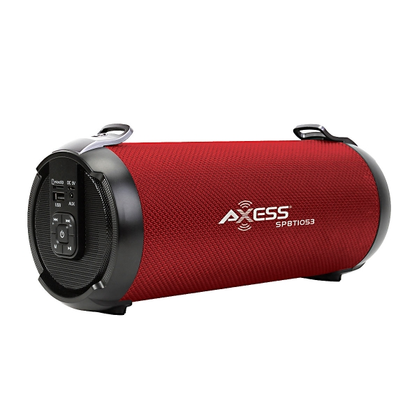 Axess SPBT1053 3IN Media- Red