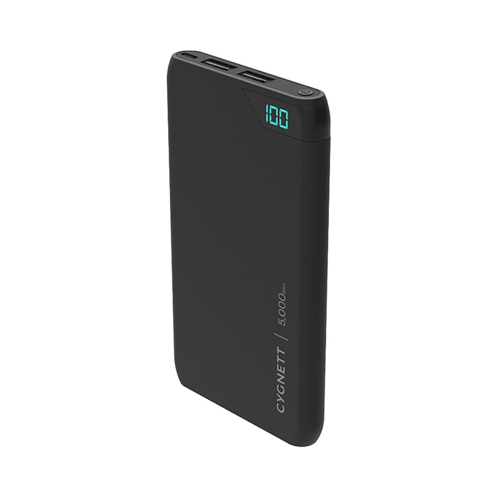 Cygnett Charge Up 5k mAh Powerbank - Blk