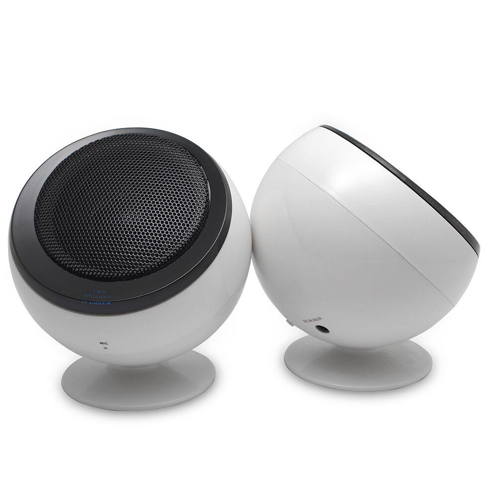 AMPD TWS Twin BT Speakers - White