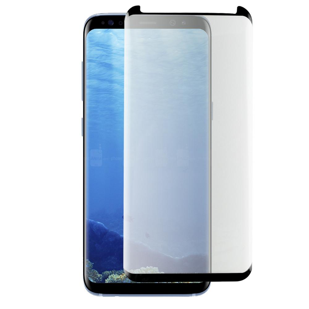 Samsung Galaxy s8 Full Coverage 3D Glass - Black