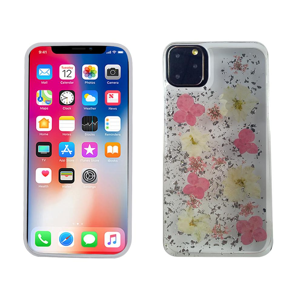 iPhone 11 Pro TPU Real Flower Case