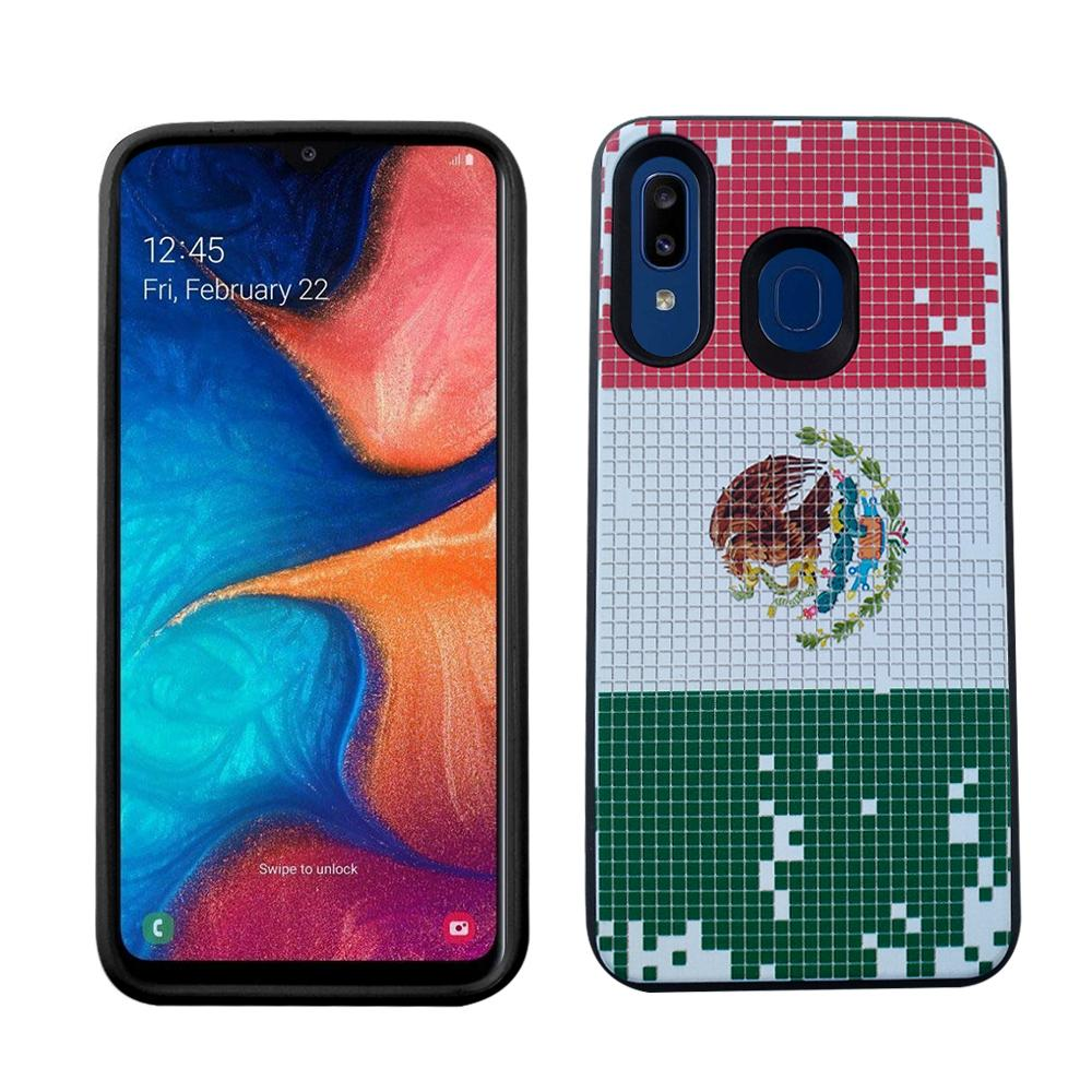 Samsung A20 Slim Design - Mexican Flag