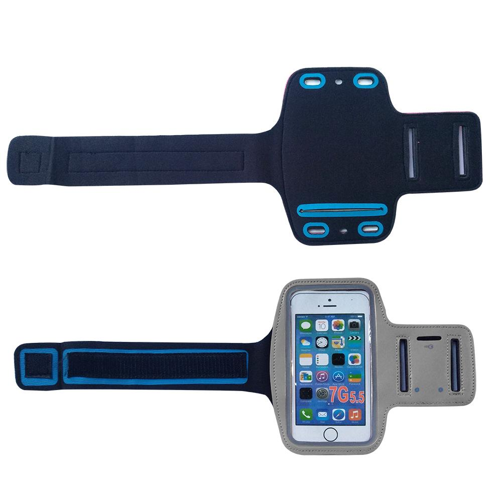Universal Workout Armband With Velcro
